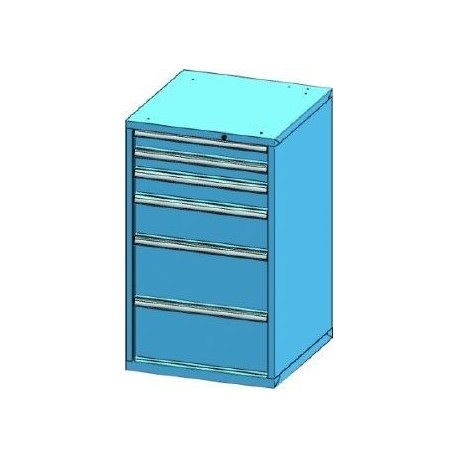 Zásuvková skříň 731x1215x753mm